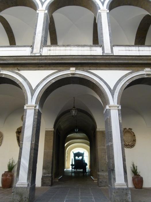Cosimo Fanzago Chiostro Grande 17