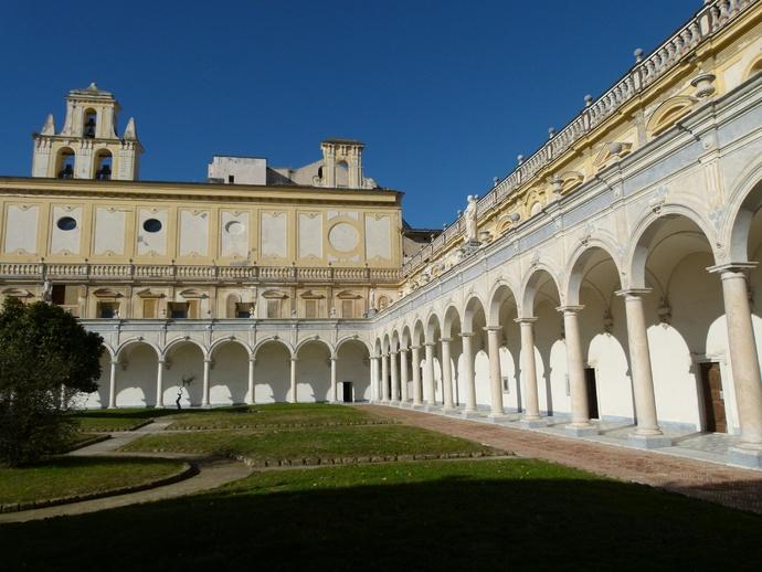 Cosimo Fanzago Chiostro Grande 24