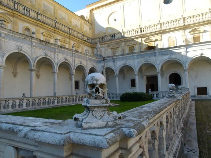 Cosimo Fanzago Chiostro Grande Monk\\\'s Graveyard