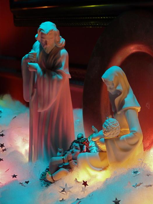 Jesus & Krishna with Mary & Joseph 2