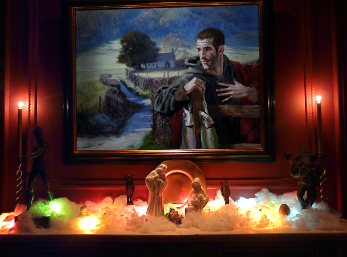 Jesus & Krishna with Mary & Joseph Durand\\\'s St