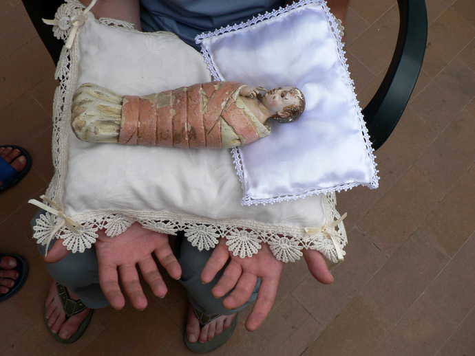 Jesus in Swaddling Clothes 2