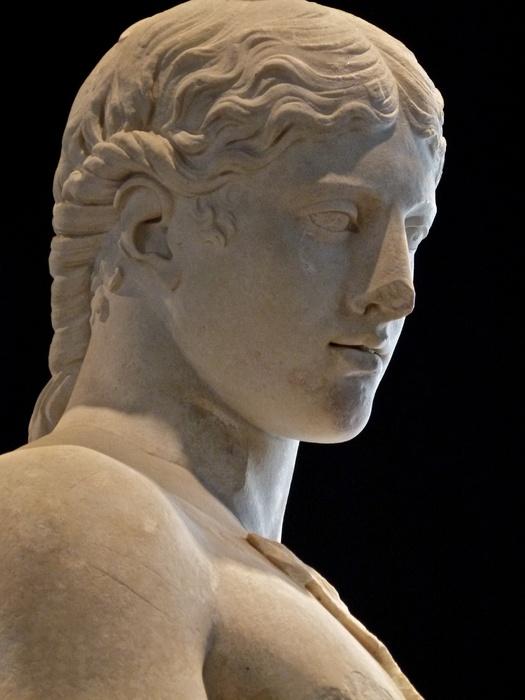 Marble Dionysus in Goatskin 5