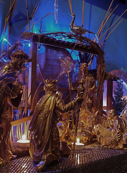 Nativity with Magi 2