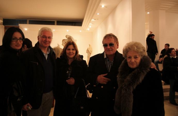 Sig e Paola de Luca si e Sig Gaetano Orticelli e André Durand