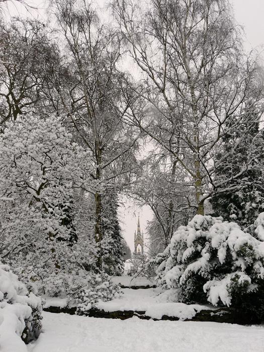 Albert Memorial Kensington Gardens