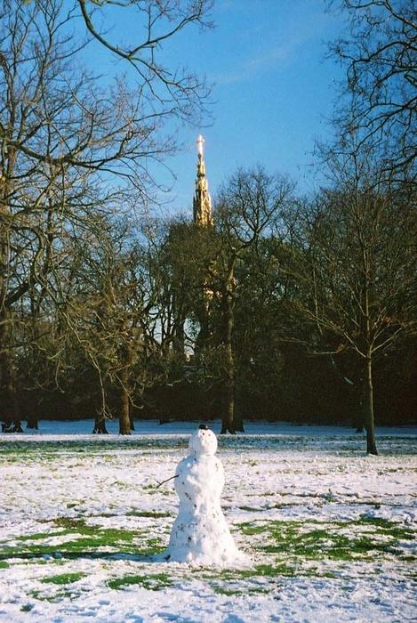 Albert Memorial & Snowman 3