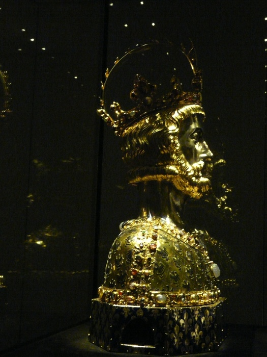 Charlemagne Reliquary Treasury Aachen Cathedral 21