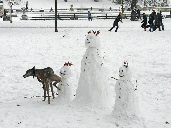 Rinaldo & Snowmen