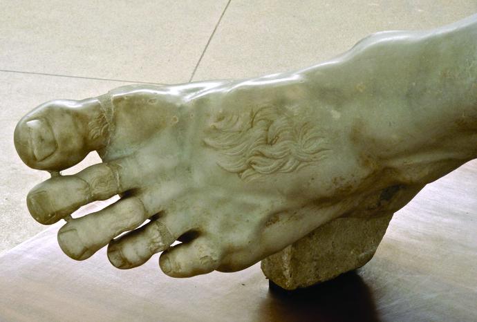 Accecamento di Polifemo (piedi Sinistra) 2