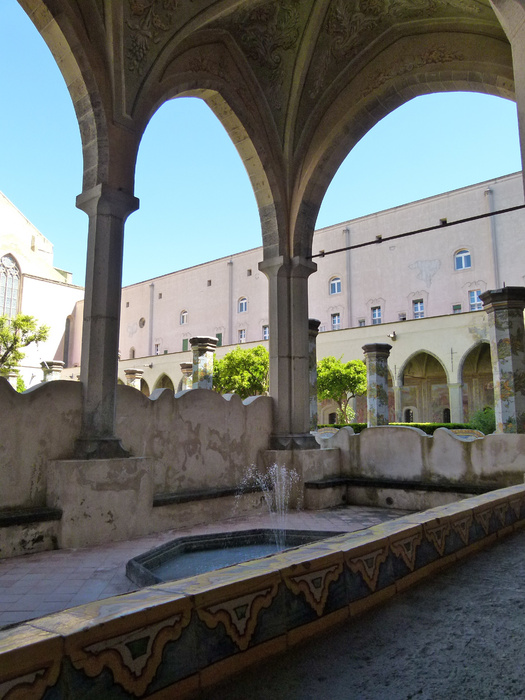 Chiostro di Santa Chiara 107