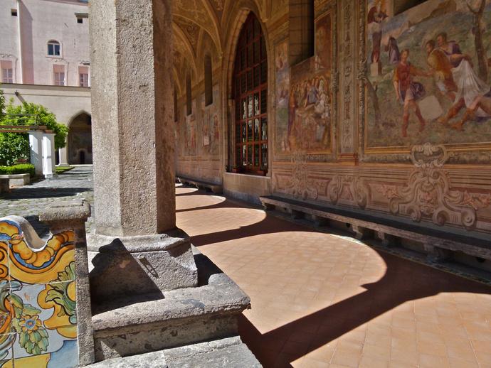 Chiostro di Santa Chiara 126