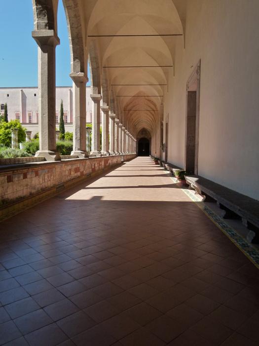Chiostro di Santa Chiara 132