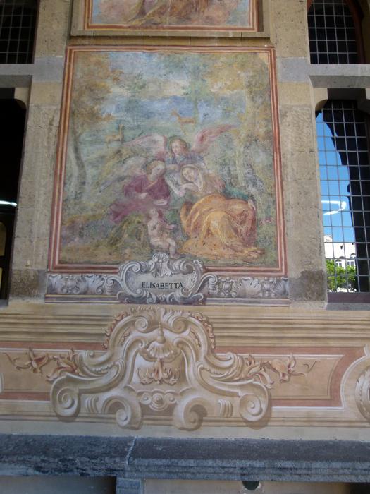 Chiostro di Santa Chiara 14