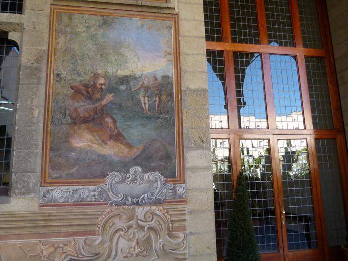 Chiostro di Santa Chiara 19