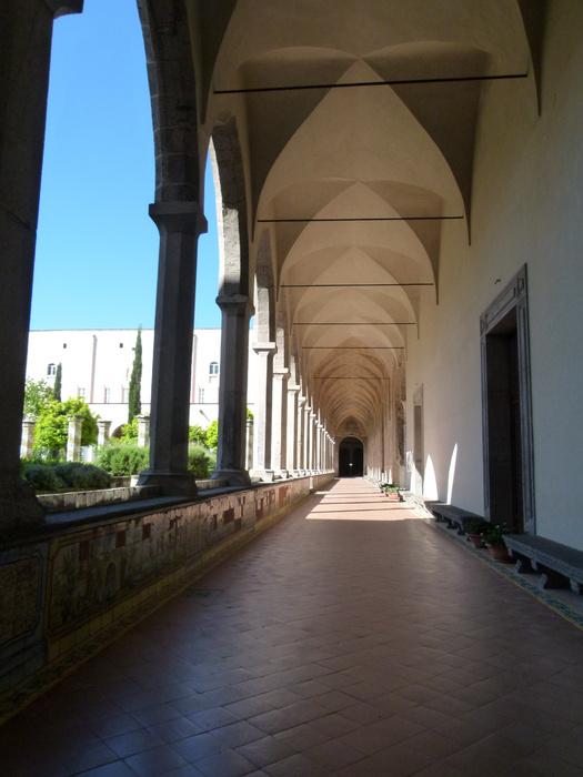 Chiostro di Santa Chiara 2