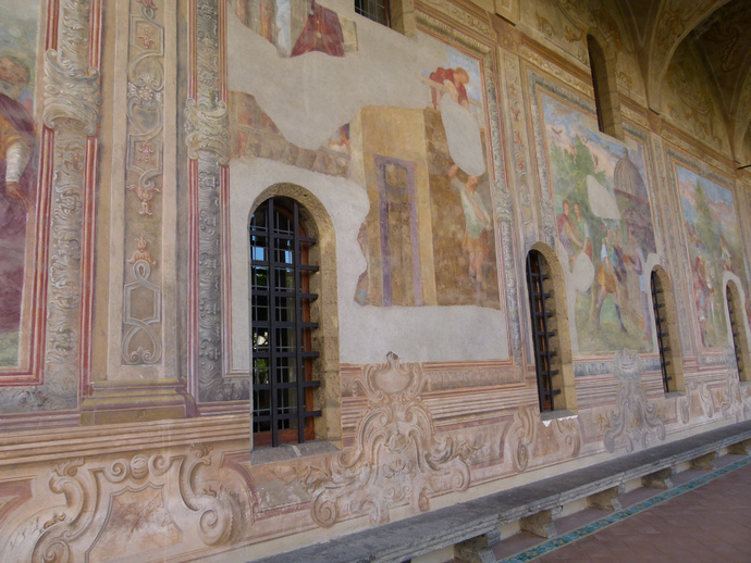 Chiostro di Santa Chiara 3