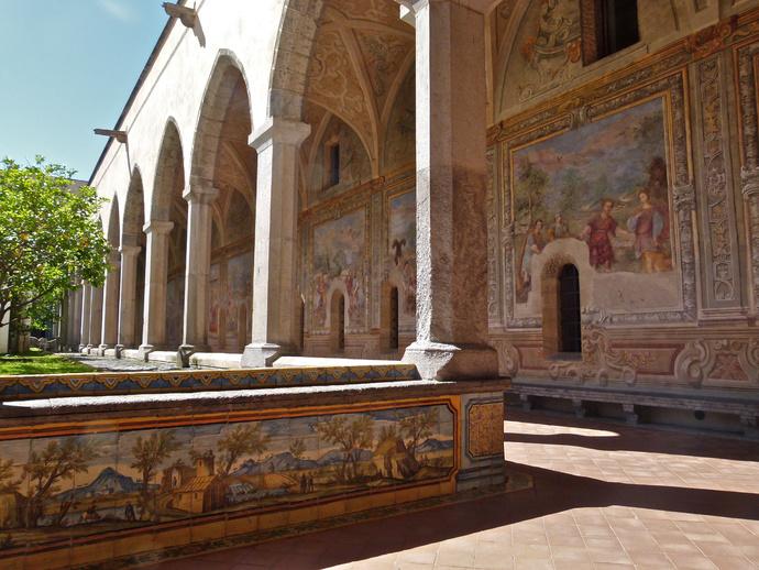 Chiostro di Santa Chiara 61
