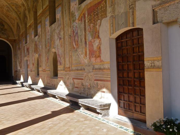 Chiostro di Santa Chiara 68
