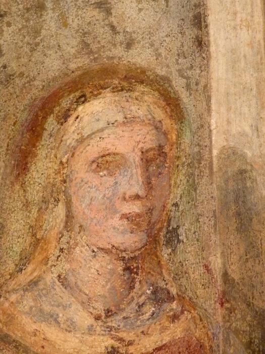 Chiostro di Santa Chiara Abraham 3angels 9