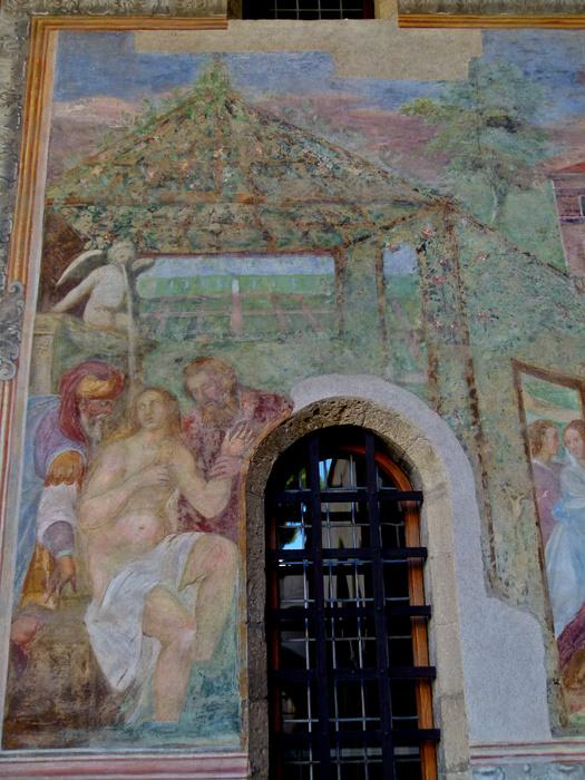 Chiostro di Santa Chiara Fresco 10