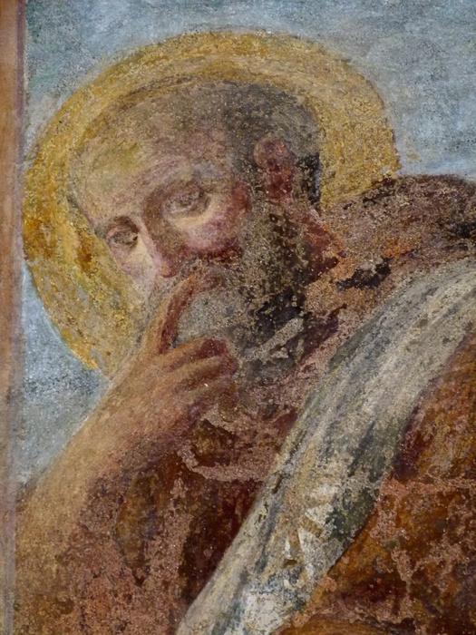 Chiostro di Santa Chiara Fresco 13