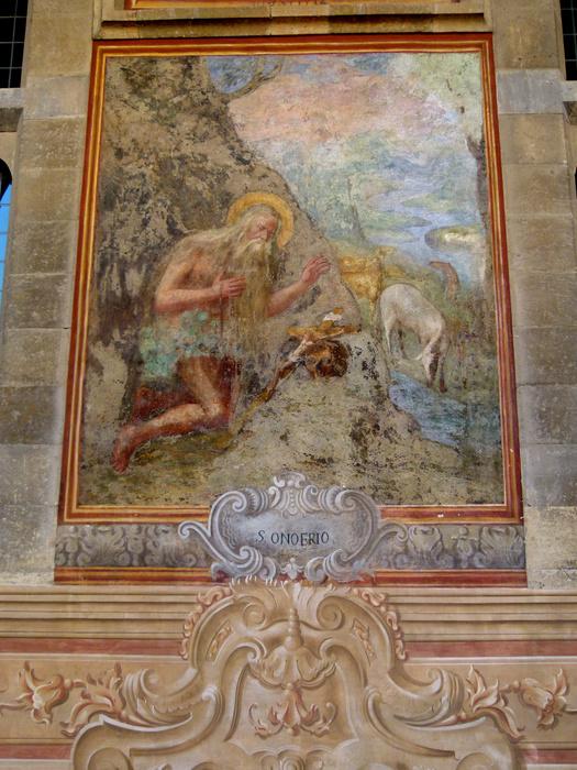 Chiostro di Santa Chiara Fresco 15