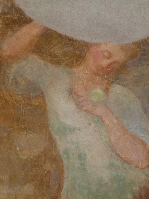 Chiostro di Santa Chiara Fresco 2