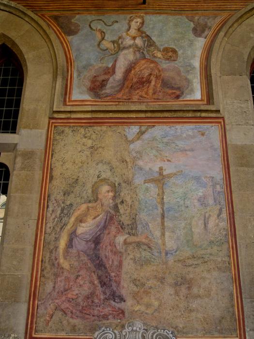 Chiostro di Santa Chiara Fresco 20