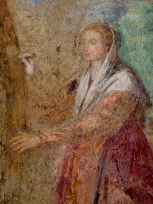 Chiostro di Santa Chiara Fresco 23