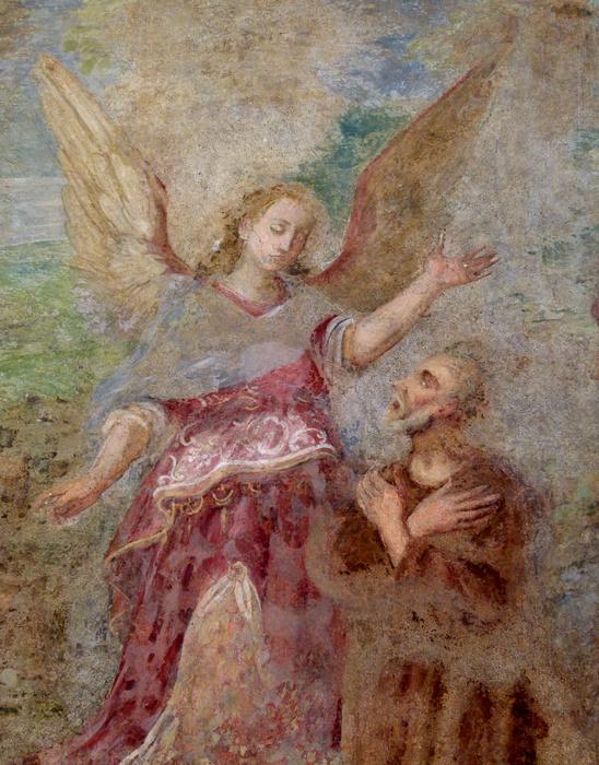 Chiostro di Santa Chiara Fresco 24