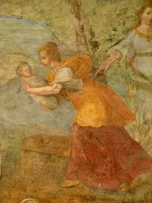 Chiostro di Santa Chiara Fresco 28