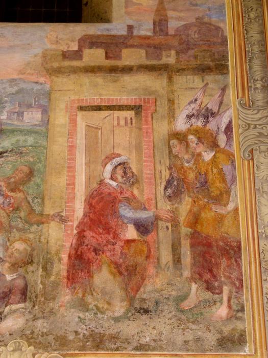 Chiostro di Santa Chiara Fresco 34