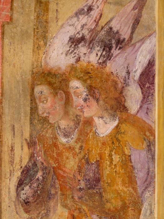 Chiostro di Santa Chiara Fresco 36