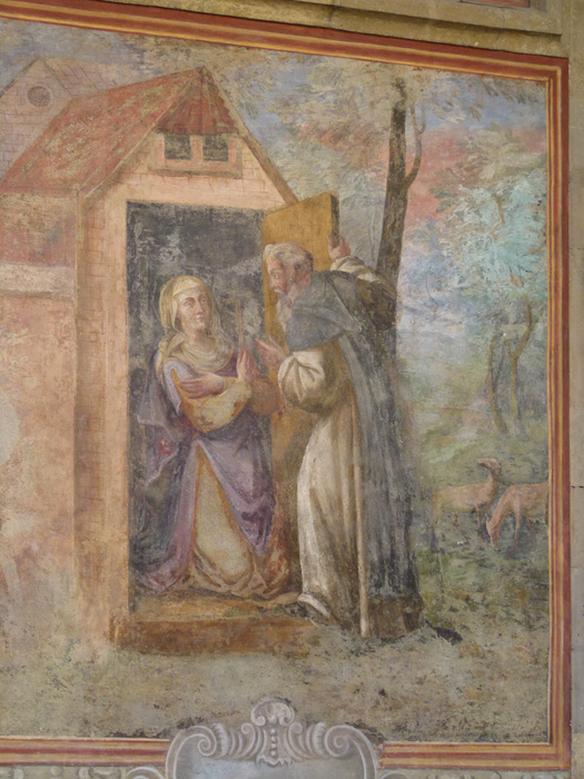 Chiostro di Santa Chiara Fresco 38