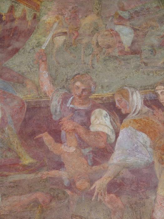 Chiostro di Santa Chiara Fresco 7