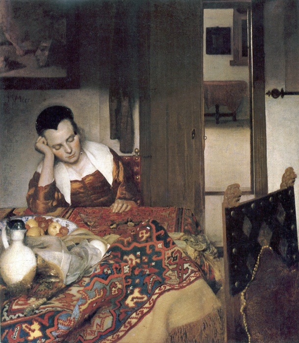1 Asleep 1656–57