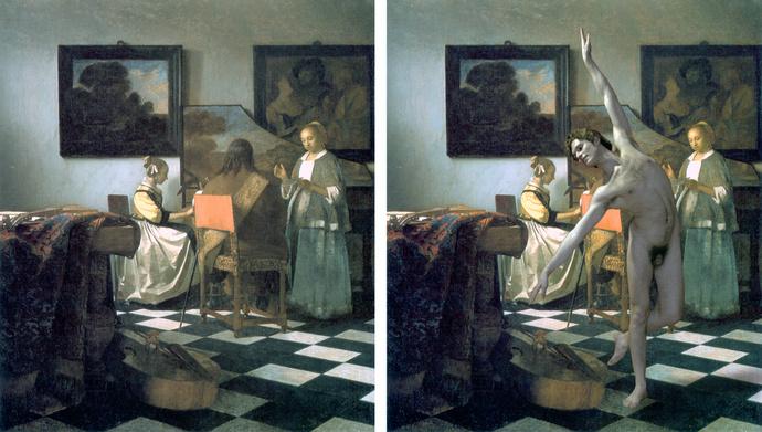 Vermeer Concert Johannes Dancing