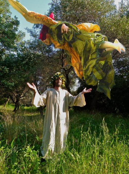 Gesù e L'angelo Della Primavera Del 2012