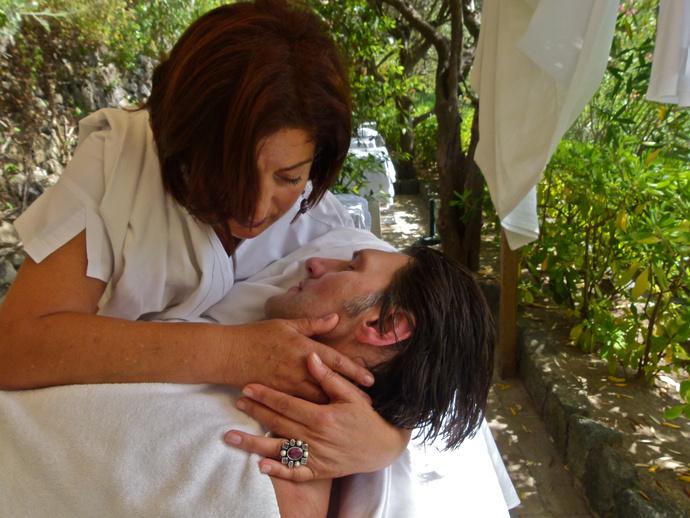 Madre Arriva Appena in Tempo Giardini Poseidon Ischia 07