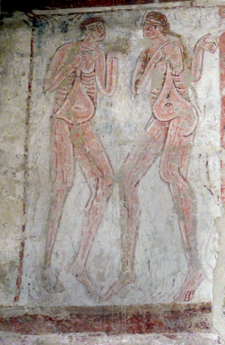 Adam & Eve (fresco)