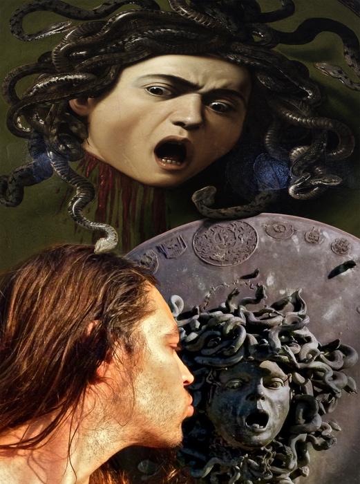 Geloso Medusa after Michelangelo Merisi da Caravaggio