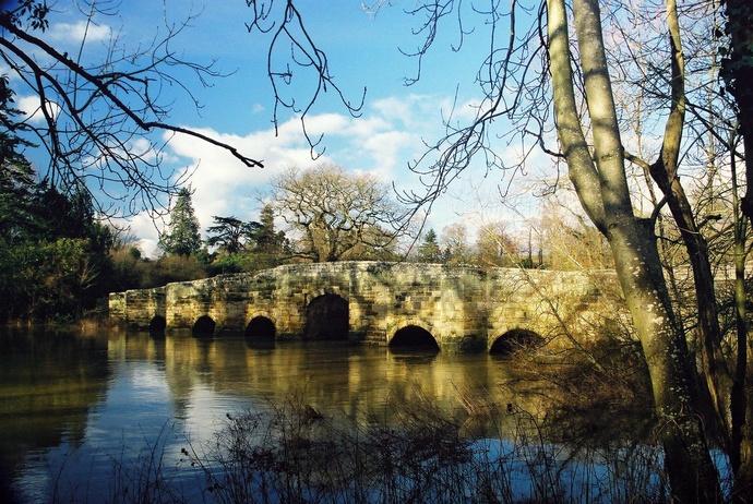 Stopham Bridge Winter 2